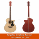 high quality 40'' acoustic linden wood folk guitars in china