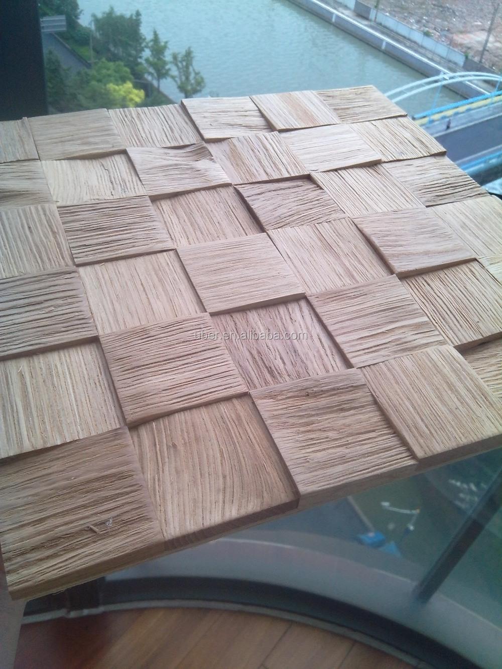 Uber 3d interieur decoratieve houten keuken wandpanelen wallpapers ...