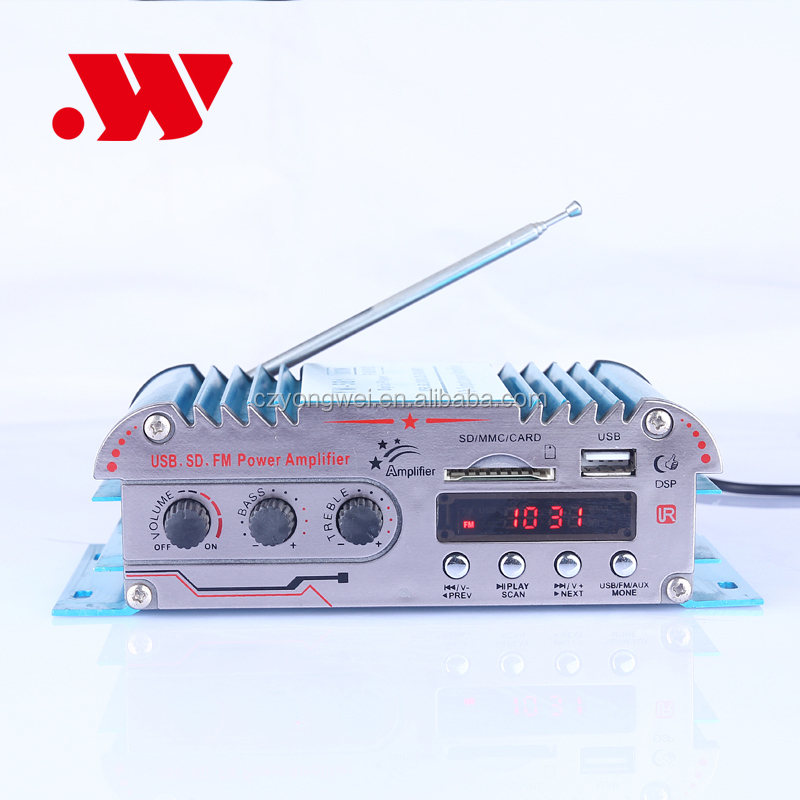 Yw-581 Professional Mini Amplifier For Mp3 Player 4-ch