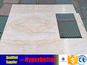 Natural beige with red lines marble tiles for wall and flooring