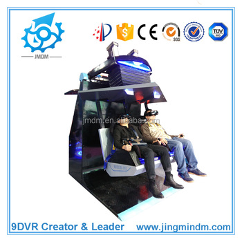 New business idea Virtual Tourism 2 seats VR cinema 9d vr simulator with 2 seats