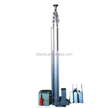 3m Military Aluminum Heavy Duty Motorized Telescoping Mast - Buy Heavy Duty  Mast,Heavy Duty Telescoping Mast,Military Motorized Telescoping Mast