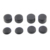 8pcs Rubber Silicone Cap Thumbstick Cover Case Skin Joystick Grip For PS4 Wireless Controller