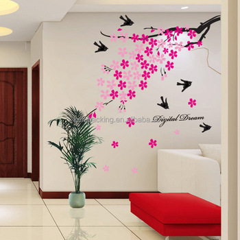 stiker dinding ruang tamu   desainrumahid