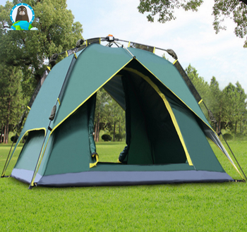 outdoor c&ing tent pop up tent automatic 3 or 4 person tent & Outdoor Camping Tent Pop Up Tent Automatic 3 Or 4 Person Tent ...