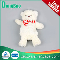 hot water bottle with winnie white bear cover