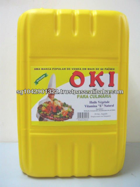 Rbd Palm Olein Cooking Oil (20l)