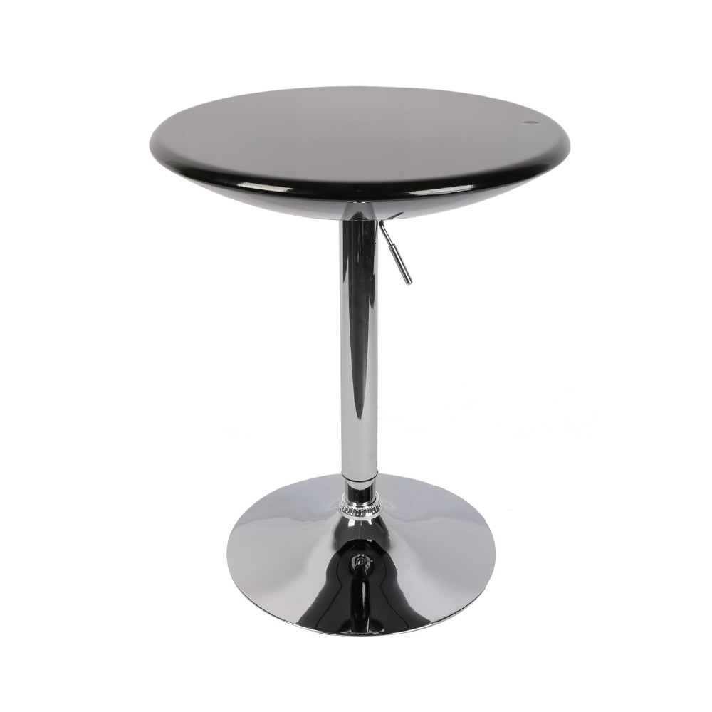 Adjustable 360 Swivel Dining Bar Table Modern Round Kitchen Home Bar Furniture