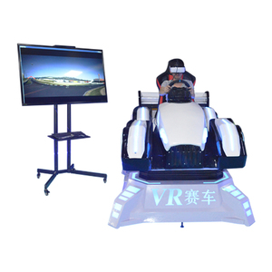 2019 Most Popular Driving Simulator PC Game 9D VR Racing Car White