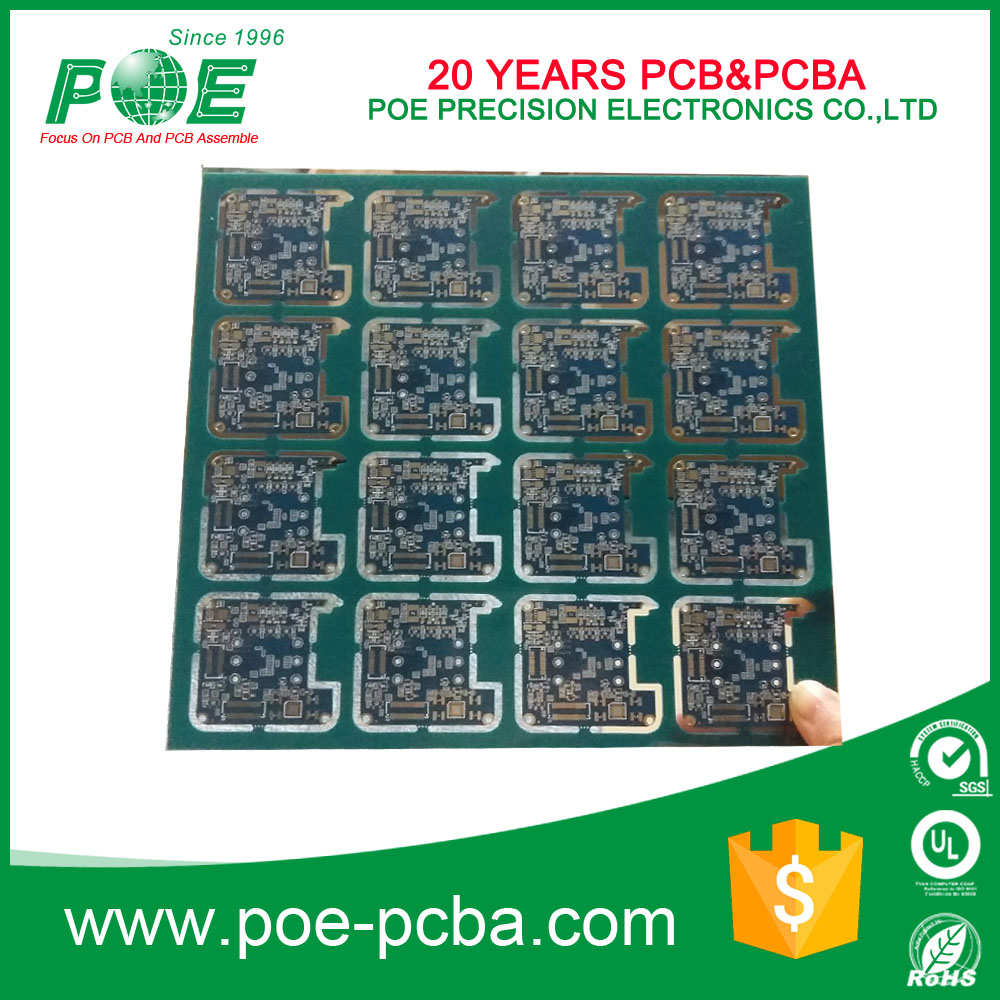 China Blue Pcb Board Manufacturers And Mount 4 Layers Fr4 Timer Printed Circuit Boards Design Of Hdi Suppliers On