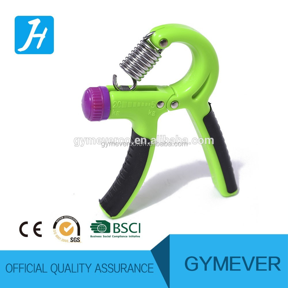 Plastic professional adjustable hand grip for Christmas gift