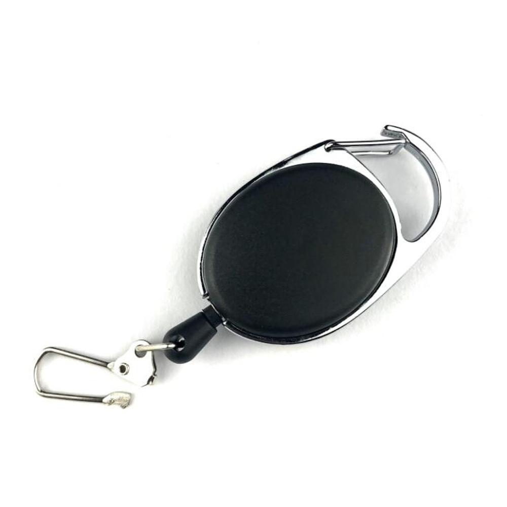 Keeper EDC Keyring Holder Burglar Keychain Return Key Ring Telescopic Wire Rope