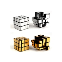 Amazon hot selling Third-order cube Mirror Magic puzzle cube