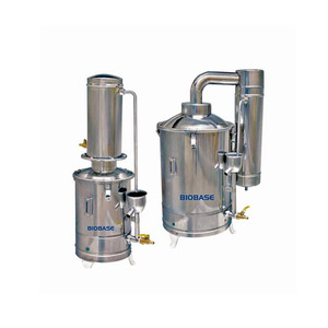 Portable laboratory Double water distillation equipment /Single water distiller