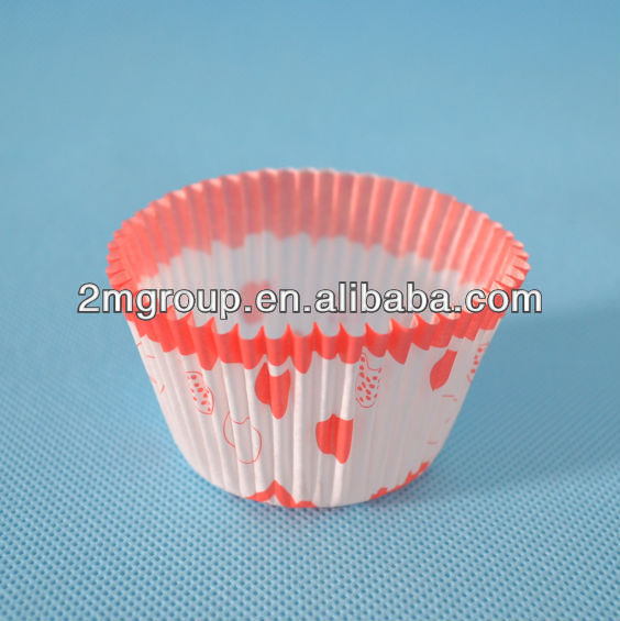 Greaseproof paper cup for baking/cup cake toppers