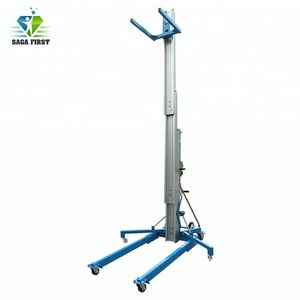 Light Weight Portable Electric Hydraulic Aluminum Material Lifting Platforms