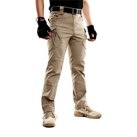 Bleach Resistant Mens Cargo Work Pants, Outdoor Jogging Hiking Jeans Casual Pants Trousers