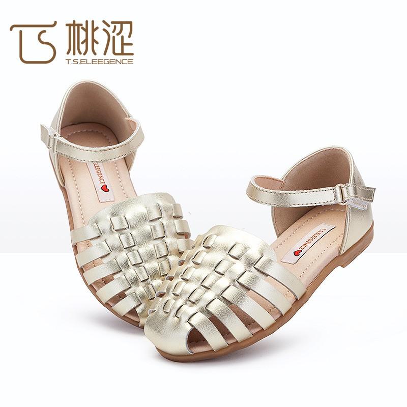 Cuir Sandale Enfant Cuir 2017 Product Enfant Buy Été Nouveau Gros On Plat En sandale sandale Y76vbfyg