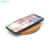 Factory Price Portable QI Standard Bamboo Wood Fast Wireless Charger Charging Plate