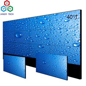 Advertising Player Board 46 Inch Ultra Thin Bezel LCD Video Wall LED Backlit Shelf Digital Ad WiFi 3G Vedios