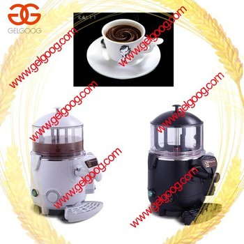 hot chocolate distributeur / commerciale chocolat chaud machine