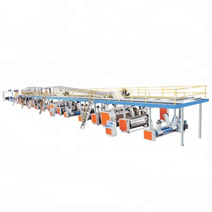 5 ply WJ Automatic corrugated paperboard/cardboard carton production line carton box printing making machine prices