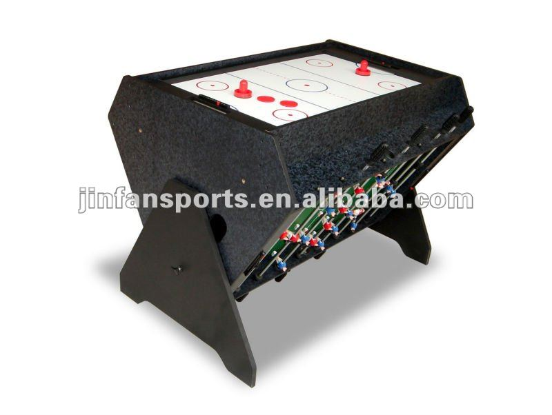 3 en1 football airhockey billard multi table de jeu for Table de multi