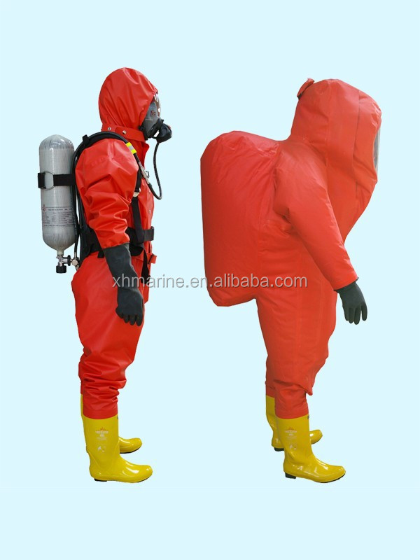 chemical body protective fire fighting suit with certificate