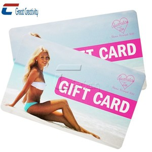 fashion style open hot sexy girl photo print pvc gift playing cards
