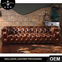 classic cow leather sofa/contemporary furniture A116
