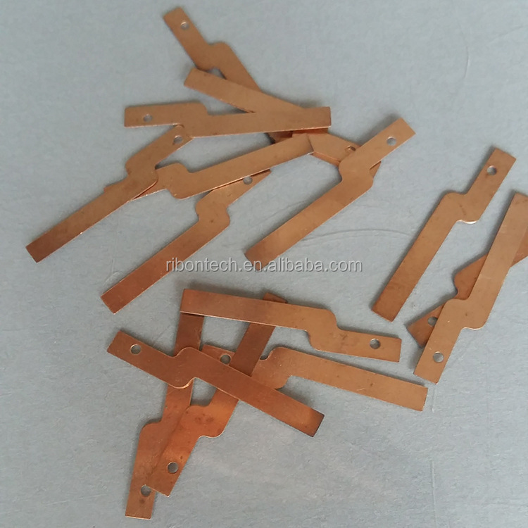 Custom high precision Metal copper/Brass Automotive Wire Connector Terminal