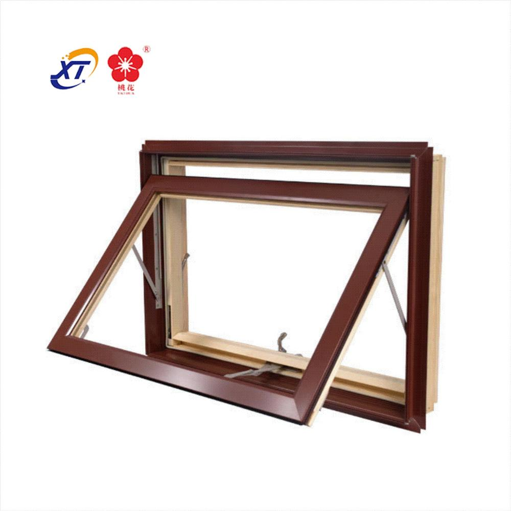 Australian Standard Aluminium Alloy Double Awning Window & Thermal break container house window aluminum awning window