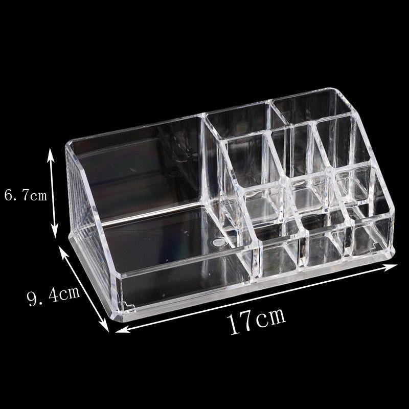 Shenzhen factory hot promotion cheap price clear acrylic lipgloss holder lipstick eyelash grower holder