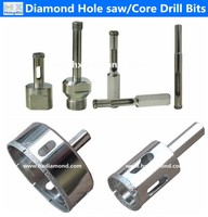 low price high quality diamond glass hole saw price diamond hollow drill bit for glass