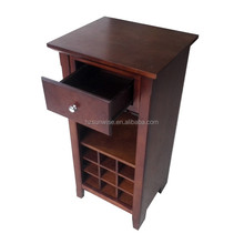 Solid wood wine glass storage cabinet wood cabinet
