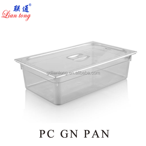 LianTong plastic food container pc gastronorm gn pan container