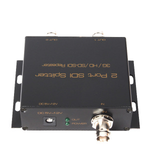2 Port SDI Splitter with 3G / HD/ SD SDI TO Repeater