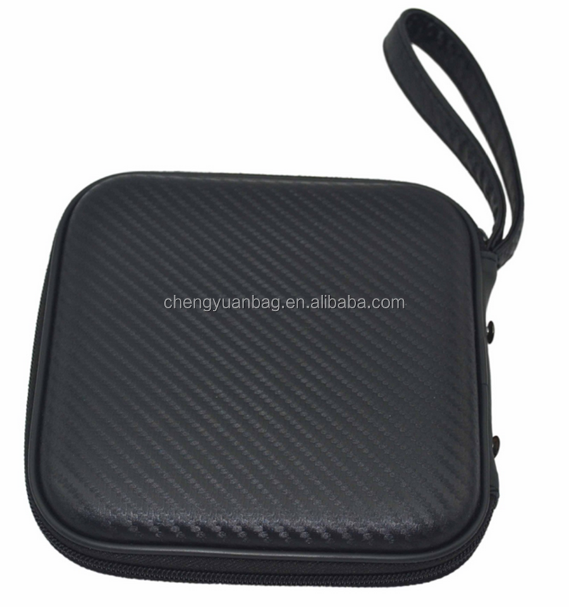 Carbon fiber 7'' CD,DVD,Optical External Drive,Trackpad Neoprene Sleeve Bag Pouch with Extra Pocket for Other Devices