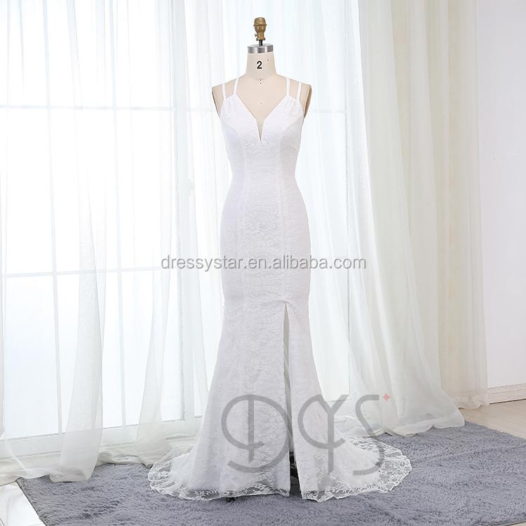 Venta al por mayor vestidos de boda baratos hechos en china-Compre ...