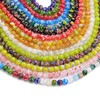 Factory sell murano millefiori glass beads, 4mm round bead for bracelet making