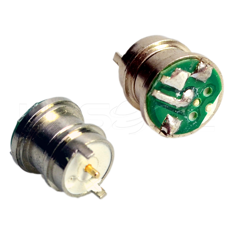 Round 2 pin pogo dc power connector