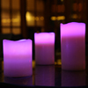 colorful LED candles for birthday,light activated LED candles,led candle