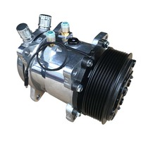 Wholesale R134a Sanden Universal Car Auto AC 507 Compressor 12V ORING VERTICAL Air Conditioner