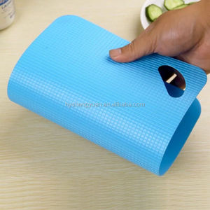 lightweight thin plastic folding flexible cutting board