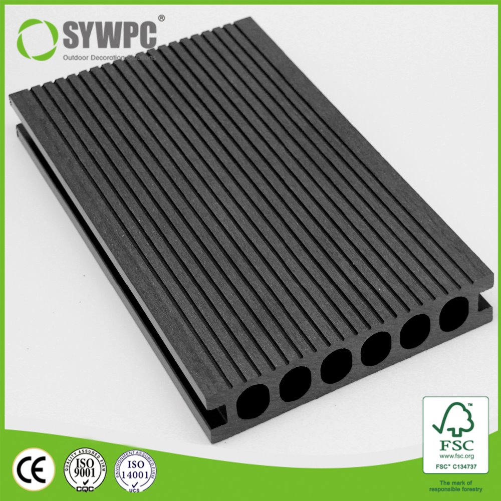 high strength easy installation outdoor WPC decking floor
