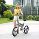Wholesale China E Lithium Battery Powered Smart Alloy Quick Release Strida Folding Bike
