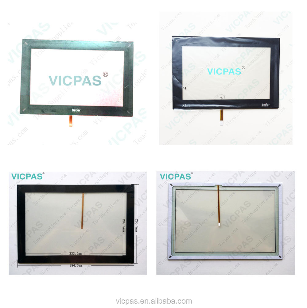 Touch screen panel for 68023G with overlay label replacement VICPAS345