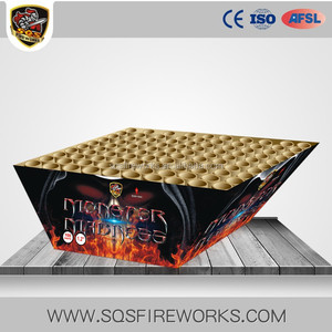 Hot sale 0.8 inch 300 shots 1.4g UN0336 SQS pyrotechnics big cake wholesale fireworks