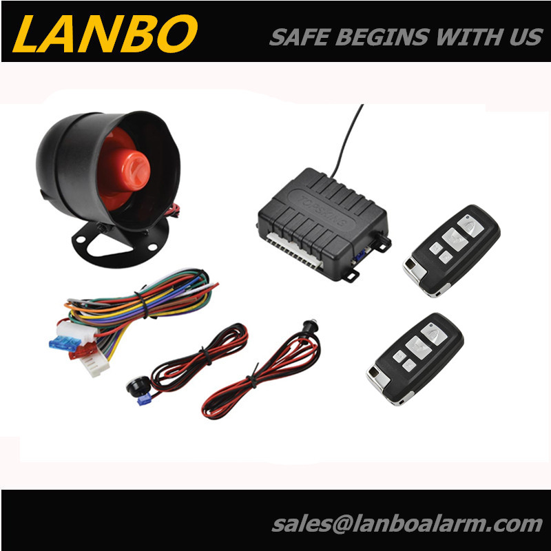 Hot auto security system, starlux, eagle car alarm, vibrate car alarm