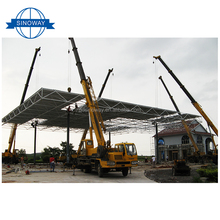Custom Made Low Carbon frame steel structure low cost industrial shed designs building